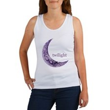 Twilight Quarter Moon Women's Tank Top