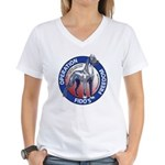 Operation Fido's Freedom Women's V-Neck T-Shirt