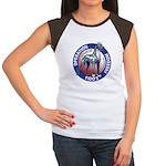 Operation Fido's Freedom Women's Cap Sleeve T-Shir
