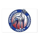 Operation Fido's Freedom Postcards (Package of 8)