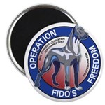 Operation Fido's Freedom Magnet