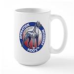 Operation Fido's Freedom Large Mug