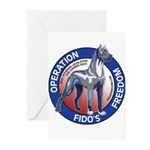 Operation Fido's Freedom Greeting Cards (Pk of 20)