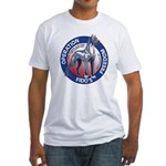 Operation Fido's Freedom Fitted T-Shirt