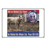 Operation Fido's Freedom Banner