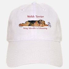 Exhausted Welsh Terrier Baseball Baseball Cap