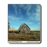 Barn, Monroe County, Iowa, Mousepad