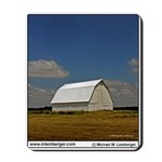 White Barn, Barn, Iowa, Mousepad