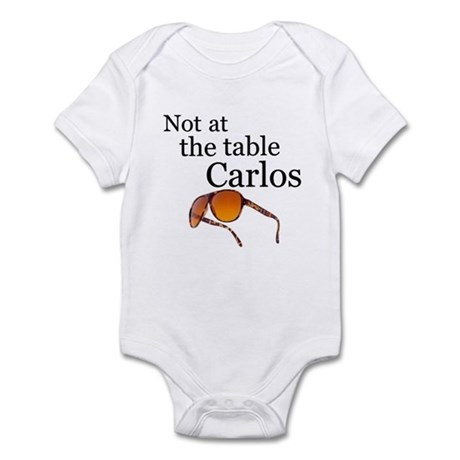 Not at the table Carlos