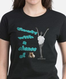 Chance of camel toe. Tee