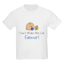 Don't Make Me Call Farmor T-Shirt