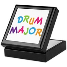 School Drum Major Keepsake Box
