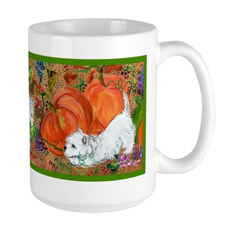 West Highland Terrier Halloween Large Mug