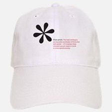 Read the Fine Print Baseball Baseball Cap