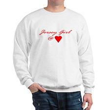 Jersey Girl @ Heart Sweatshirt