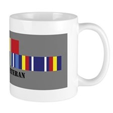 Iraq Vet 2 Bronze Star Mug