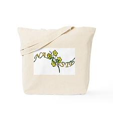Namaste- Jasmine Tote Bag