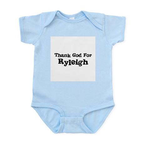 Thank God For Ryleigh Infant Creeper