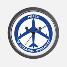 B-47 Peace Sign Wall Clock