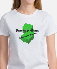 Jersey Girl, Born & Raised Women's T-Shirt