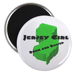 Jersey Girl, Born & Raised Magnet