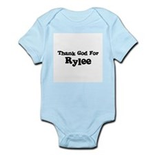 Thank God For Rylee Infant Creeper
