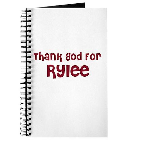 Thank God For Rylee Journal