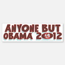 Anyone But Obama Bumper Bumper Sticker
