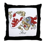 Fox Sept Throw Pillow
