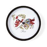 Fox Sept Wall Clock