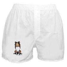Sable Sheltie Lover Boxer Shorts