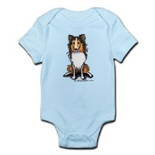 Sable Sheltie Lover Infant Bodysuit