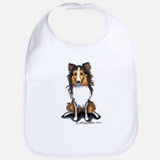 Sable Sheltie Lover Bib