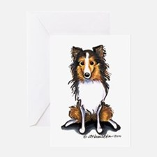 Sable Sheltie Lover Greeting Card