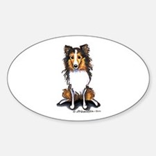 Sable Sheltie Lover Decal