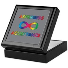 Aspergers Acceptance Keepsake Box