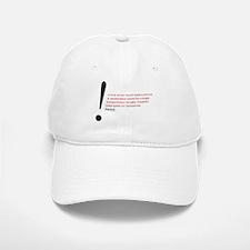 Read the Fine Print Baseball Baseball Cap