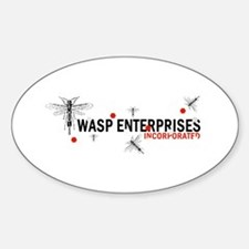 Wasp Enterprises Sticker (Oval)