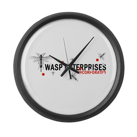 Wasp Enterprises Large Wall Clock