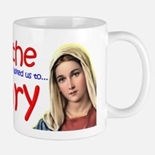 Pray the Rosary - Coffee Mug (b)
