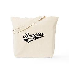 Beagles Rule Tote Bag