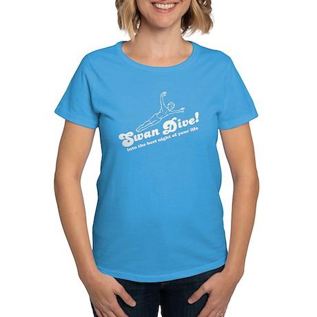 Swan Dive Women's Dark T-Shirt