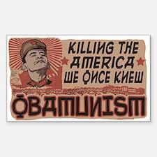 OBAMunism kills U.S. Decal