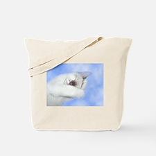 Angel Kitten Tote Bag