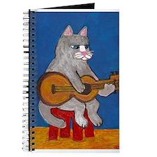 Cat on Guitar Journal