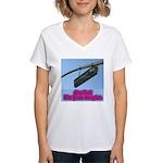 You Bet! Women's V-Neck T-Shirt