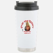Pray the Rosary - Travel Mug Hot/C