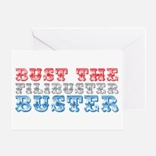 Bust the Filibuster Greeting Card