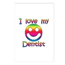 Cute I love my dentist Postcards (Package of 8)