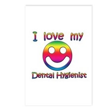 Funny I love my dentist Postcards (Package of 8)